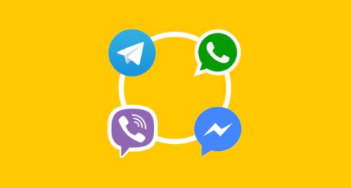 Мессенджеры Telegram, WhatsApp, Viber, Facebook